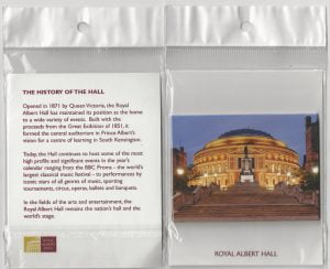 Albert Hall packaged magnet