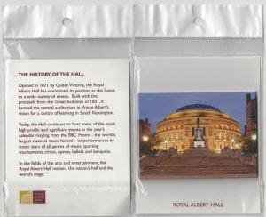 Albert Hall packaged magnet