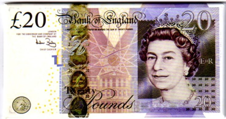 B of E £20 Note – Exclusive to House of Magnetix!