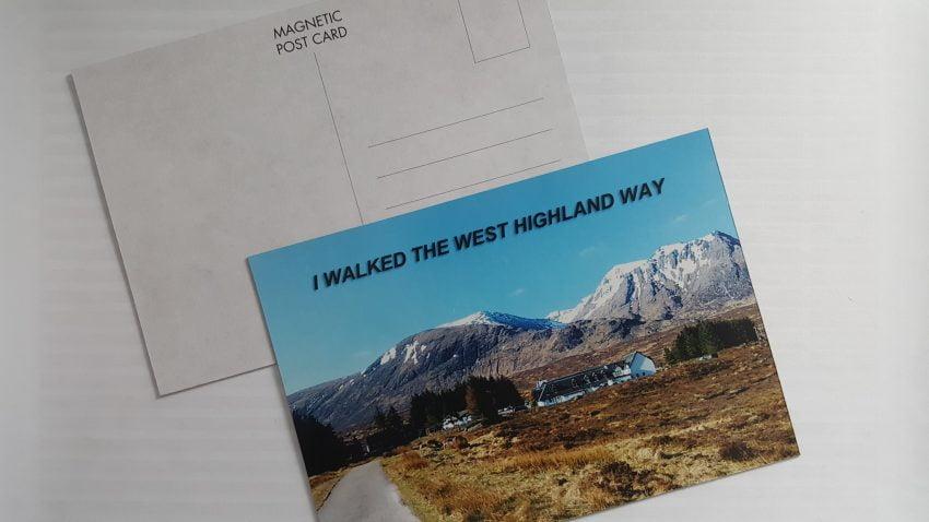 Magnetic Postcards