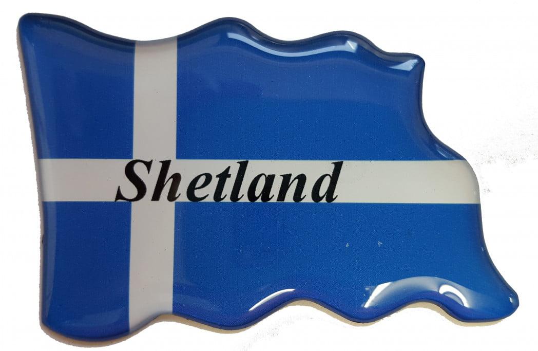 F1 – Epoxy Resin – Shetland Flag