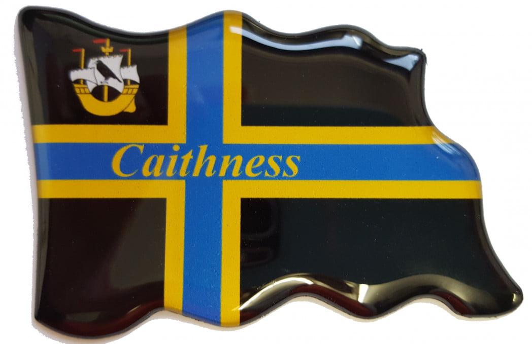 F3 – Epoxy Resin – Caithness Flag