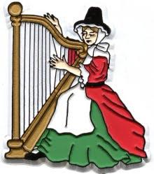 Welsh Harp Flexible Magnet